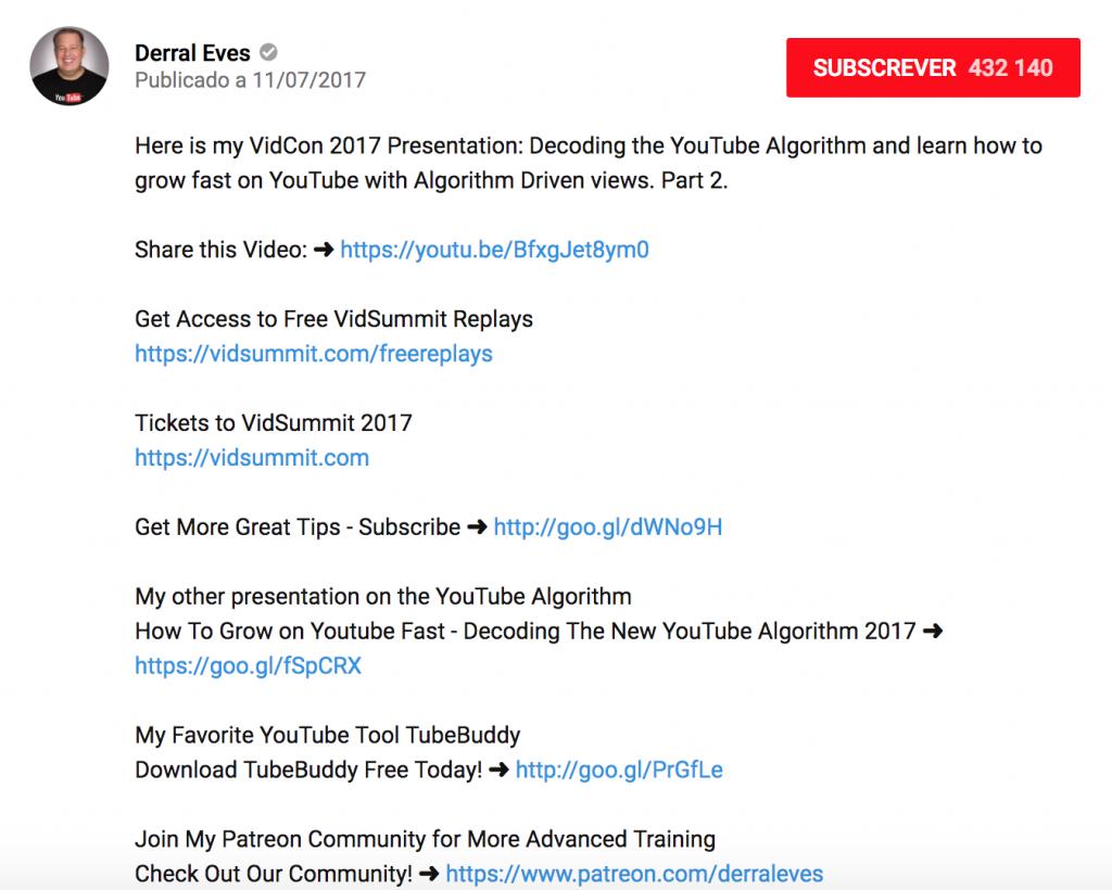 Otimizar-Descricoes-YouTube