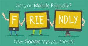 mobile friendly melhorar experiência compra site